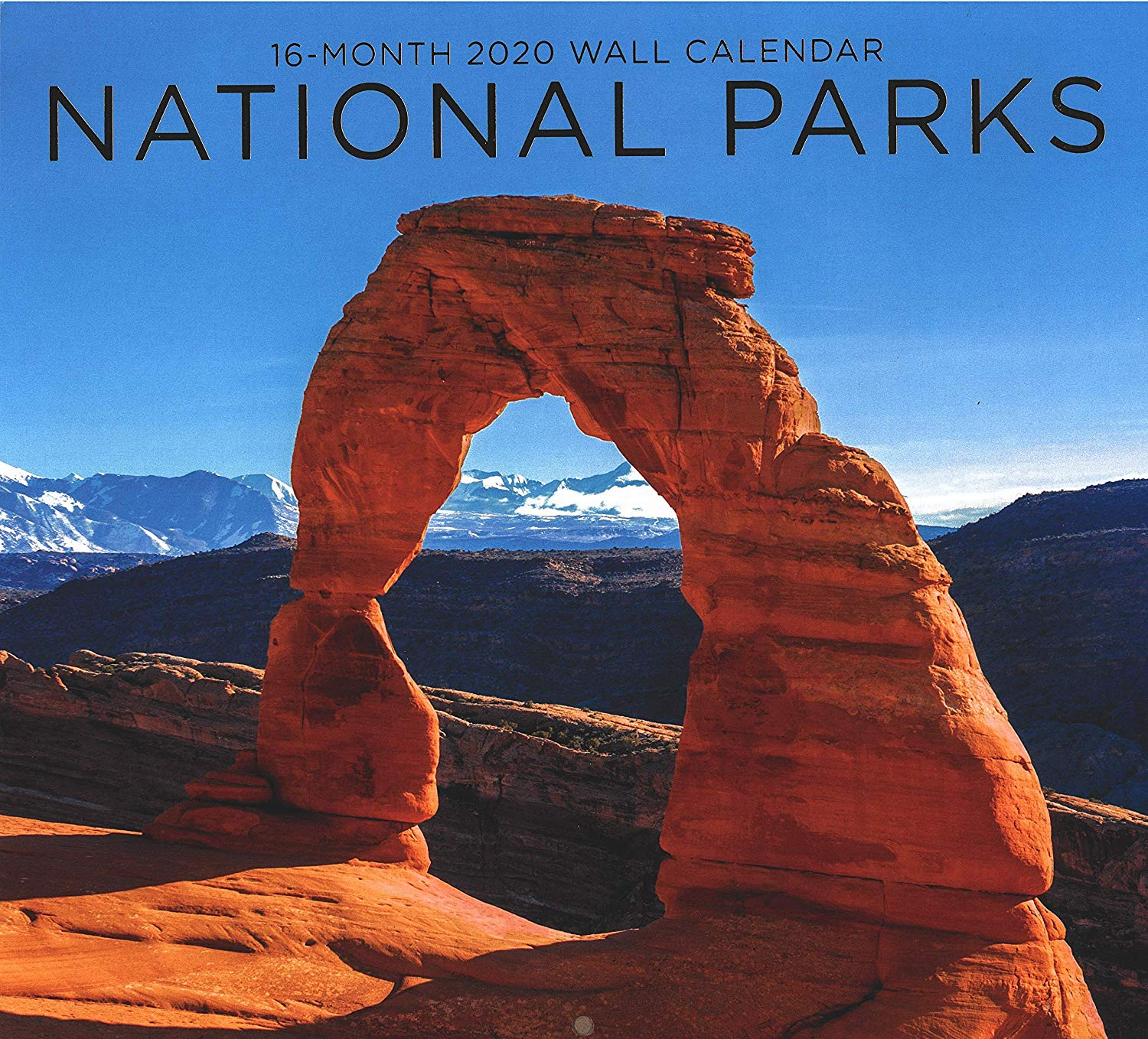 2020 National Parks Full-Size Wall Calendar, 16-Month