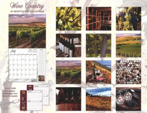 2020 Wine Country Full-Size Wall Calendar, 16-Month